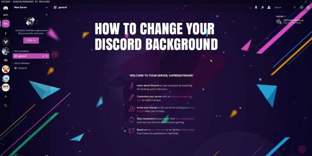 The Truth About How To Change Discord Background