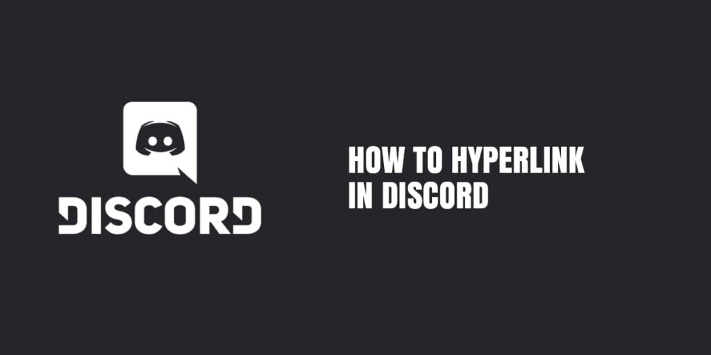 Learn How To Hyperlink In Discord