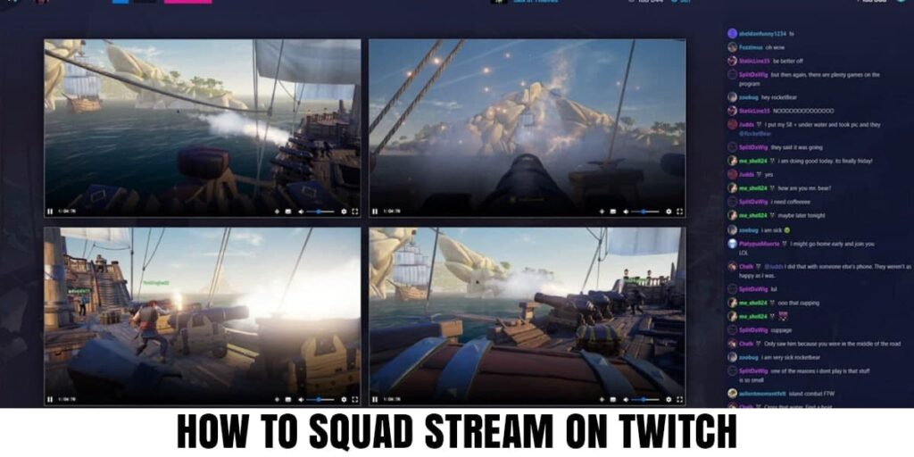 The Best Way To Squad Streaming In Twitch App