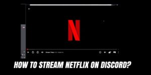 How To Stream Netflix On Discord